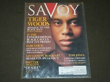 2001 MAY SAVOY MAGAZINE VOLUME 1 NO. 4 - TIGER WOODS COVER - GOLF - O 7440