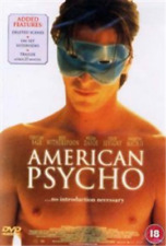 American Psycho 2000 Christian Bale DVD (uk) Thriller Drama Movie Region 2