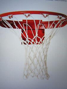 Basketball Replacement Net Hoop NBA Regulation Size Indoor/Outdoor, Heavy Duty