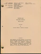 Quantum Leap - The Great Spontini - Tv - Script - By Cristy Dawson & B Bridges