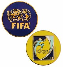 Football/Soccer Referee Game Flip/Toss Coin with Plastic Sleeve NH-C-01