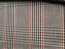 Tweed Fabric All Wool Made in England Jacketing Suiting 2.4M Upholstery Material