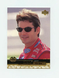 Jeff Gordon 2000 Upper Deck Victory Circle 10/24 Gold Exclusives Level 2 UD VC