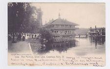 CUYAHOGA FALLS OHIO THE PAVILION SILVER LAKE USED 1906