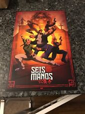 SEIS MANOS 2019 NEW YORK COMIC CON PROMOTIONAL Poster  WAVINESS