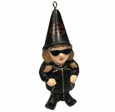 Harley Davidson® Sculpted Lady Biker Garden Gnome Hanging Christmas Ornament