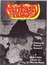 weird FANTASY TALES Winter 1982 - Joe Lansdale, Jim Pitts, H. Warner Munn