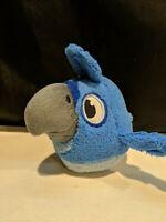 Angry Birds Rio Blue Plush Stuffed Animal Toy 5 inch