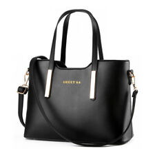 Women's Handbag Leather Messenger Shoulder Tote Bag Purse Crossbody Satchel