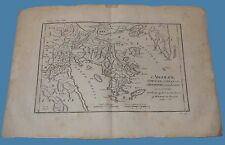 Argolide Egina Epidauro Argos Hermionide Anacharsis Grecia Antica Anacarsi 1788