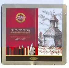 Koh-I-Noor – h8899 – College Art Set de crayons Gioconda (11)