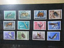 S192/5599 JUGOSLAWIEN YUGOSLAVIA Tiere animals Topsatz 738-49 xx
