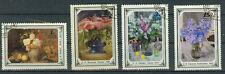 Russland Briefmarken 1979 Blumengemälde Mi.Nr.4866-69