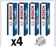 4x Bosch Spark Plugs for KIA SOUL 1.6 G4FC AM 105bhp 126bhp
