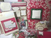 Anna Griffin Festive & Fanciful Instant Scrapbook Kit Christmas Holiday 12x12