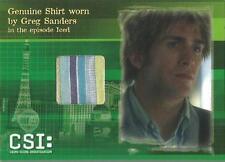 CSI Series 3 Costume Card CSIS3-C1 Eric Szmanda Shirt