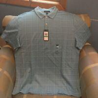 Van Heusen Short Sleeve Polo Shirt Large NWT