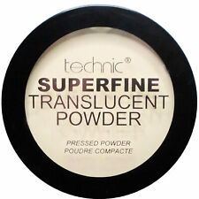 Technic Superfine Translucent Pressed Face Powder Matte Make Up Setting Natural