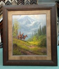 """G. HARVEY FRAMED """"REFLECTING HIS MAJESTY"""" LIMITED EDITION #1132 OF 1950 WITH COA"""