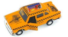 "4.5"" Classic New York City Diecast Metal Yellow Taxi with Pullback Motor Action"