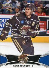 16/17 UPPER DECK AHL #1 CHRIS BOURQUE HERSHEY BEARS *30922