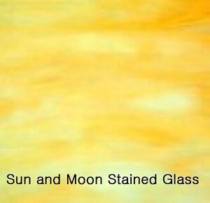 Wissmach Glass Sheet 58DG -Light Caramel Granite Opal - Stained Glass Sheet