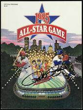 Pete Rose Signed Original 1985 Cincinnati Reds Signed All Star Game Program JSA
