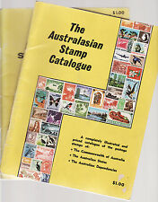 THE AUSTRALASIAN STAMP CATALOGUE  1968 FIRST EDITON & 1970 ISSUE Australia   dp