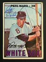 Pete Ward White Sox signed 1967 Topps baseball card #436 Auto Autograph 2