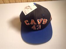 Vintage Cleveland Cavaliers SnapBack Hat #43 Brad Daugherty Rare New