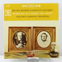 Bruno Walter Conducts Schubert Symphony in C Major The Great LP VG+ MS 6219