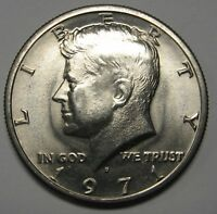 1971-D John F Kennedy Clad Half Dollar Choice BU Condition From Mint Set  DUTCH