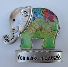 m You make me smile Lucky Elephant Figurine miniature Ganz