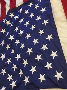 Valley Forge U.S.A. American Flag 5'x9'  Stamped US Property