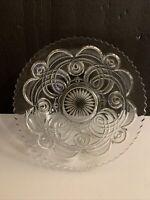 "EAPG Antique Glass CURLICUE AKA 9"" Bowl Bryce Higbee & Co."