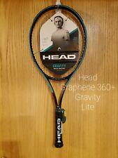 "Head Graphene 360+ Gravity Lite Tennis Racquet Grip Size 4 3/8"""