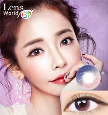 Farbige Kontaktlinsen - Galaxy Twinkle Star QLO Pink Color Korean Contact Lenses