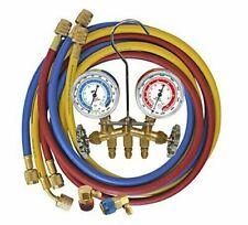 Mastercool 66661 Ayf Dual 134a And 1234yf Brass Manifold Gauge Set Brand New