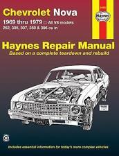 Haynes CHEVROLET NOVA (69-79) SS Owners Service Repair Workshop Manual Handbook