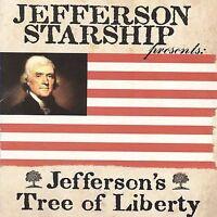 (FACTORY SEALED) Jefferson Starship CD Jefferson's Tree of Liberty