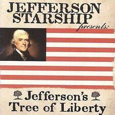 JEFFERSON STARSHIP JEFFERSON'S TREE OF LIBERTY CD  Marty Balin, Darby Gould