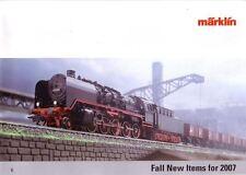 """Marklin Fall 2007 """"New Items"""" Catalogue"""