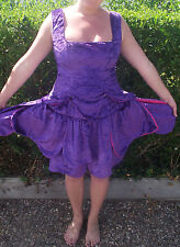 purple flower fairy fully lined quality outfit. can be custom made hen night