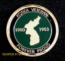 KOREA KOREAN WAR VETERAN CHALLENGE COIN US ARMY MARINES NAVY AIR FORCE USCG GIFT