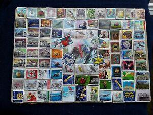 Briefmarken  SCHWEIZ  gestempelt, plus 1 Block