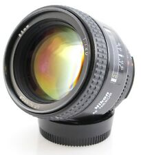 Nikon 85mm F1.8D Nikkor AF Lens. Fully Working