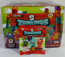 ZOMLINGS IN THE TOWN 2013 SERIES 1 - 1 x FIGURE IN SEALED BLIND BAG IN QUANTITY