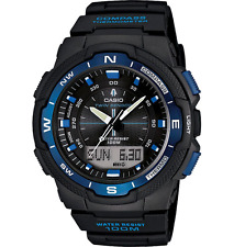 Casio SGW500H-2BV Mens Resin Analog Digital Twin Sensor Multi-Function Watch