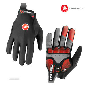 NEW 2021 Castelli ARENBERG GEL LF Long Finger Cycling Gloves : BLACK