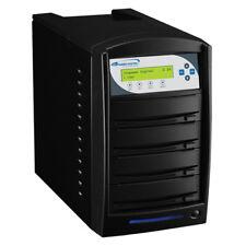 SharkCopier 3 Target CD DVD Duplicator 320GB HDD Optiarc Burner Shark-S3T-OPT-BK